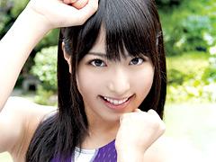 【エロ動画】夢の競泳水着×由愛可奈のエロ画像