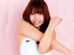 【エロ動画】麗しの競泳水着×佐々木玲奈のエロ画像