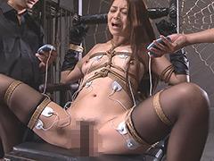 人妻発狂アクメ地獄 電流緊縛女体拷問室