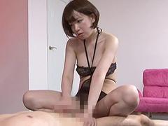 ザ☆淫語痴女 手コキ男犯