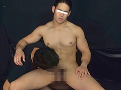 ゴリマッチョ敦志が筋肉震わせザーメン激噴射!