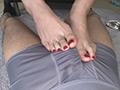 足コキ射精 イクまで足でシコってくれる美女16人4時間