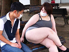 ぽっちゃり:爆乳お化け尻セルライト☆ホットパンツ未亡人 とわこ