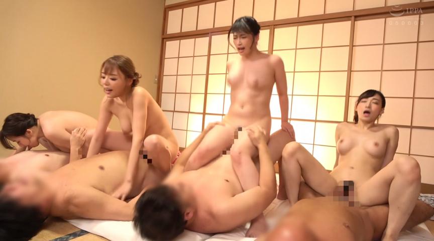 巨乳AV女優ヤリまくり温泉旅館
