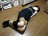 木村優ちゃん、真下美紀ちゃん、中原雪子さん、小田佳鈴さんの初めての縛り体験の映像です