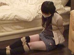 【エロ動画】クロロホルム誘拐のSM凌辱エロ画像