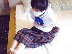 【エロ動画】制服マニア 誘惑の部屋のSM凌辱エロ画像