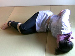 【エロ動画】本気で縄抜け!7のエロ画像