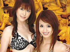 【エロ動画】真正中出しダブル痴女EXのエロ画像