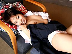 【彩芽はる動画】制服少女だまし撮り-彩芽はる-女子校生