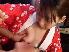 【エロ動画】ママが優しく手ほどき 近親相姦のエロ画像