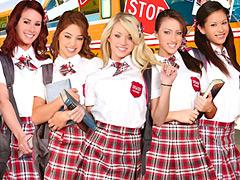 【エロ動画】ドすけべハイスクール in USAのエロ画像