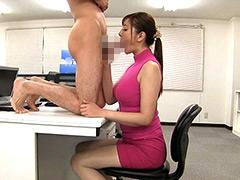 着衣女性と裸の男・ボディコンお姉さん編-【痴女】