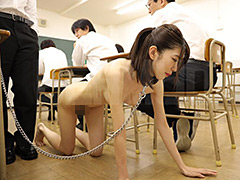 女教師飼育 恥辱の教室 有坂深雪-【辱め】