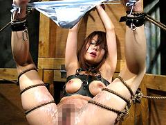 【エロ動画】SM獄窓 Vol.6 瀬名ミリヤのSM凌辱エロ画像