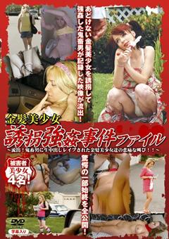 金髪美少女 誘拐強姦事件ファイル