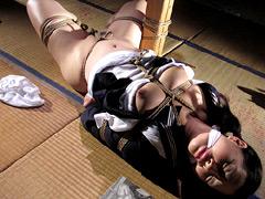 【エロ動画】夢縄 二 桃果女学生緊縛のエロ画像