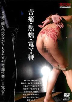 【熱蝋動画】苦痛・熱蝋・電マ・鞭-SM