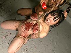 【エロ動画】巨乳拷問3のエロ画像