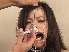 【エロ動画】鼻責め・鼻浣腸12 - 極上SM動画エロス