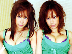 双子アクメ 一卵性児~電マ責め~同時イキ