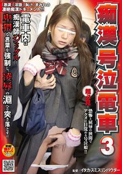 痴漢号泣電車3