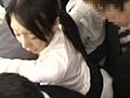 超満員電車で身動きが取れない美女に射精2