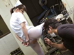 【エロ動画】手錠の鍵はマ●コの中 病院編のエロ画像