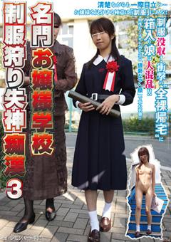 名門お嬢様学校 制服狩り失神痴漢3