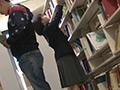 図書館で声も出せず糸引くほど愛液が溢れ出す敏感娘20
