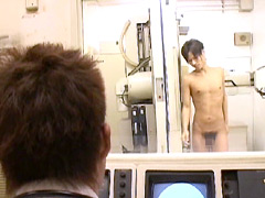 【ゲイのオナニー動画】ノンケ喰い病院 24時20分~30分