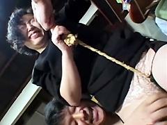 【エロ動画】喰い込み未亡人の人妻・熟女エロ画像