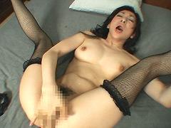 【エロ動画】中年女の悶絶ぐちゅぐちゅオナニーの人妻・熟女エロ画像