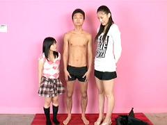 【エロ動画】日本一背の高いオンナノコ2のエロ画像