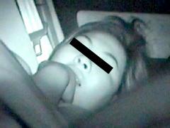 夜更けに潜むパパラッチ@無修正 ロ●ータ 眠 カーセックス
