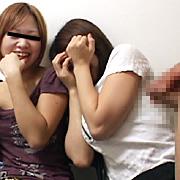 初めてセンズリを見る女たち VOL.5【オフィスケイズ】素人