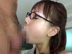 【エロ動画】喉奥サオ呑みフェラのエロ画像