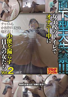 直下型大失禁!!! 女子校のトイレでオナニー中に小便を漏らす11人の女たち Vol.2
