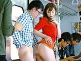 満員電車で発情素股されちゃって… 【DUGA】
