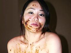 大塚陽子|チビ爆乳女、初めての糞出し肛門遊戯