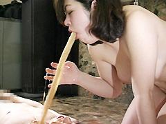 陰湿変態女のゲロ&大便責め