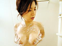 お母さんの入浴3
