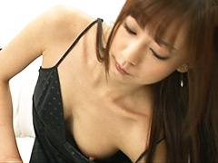 真野ゆりあ|コリッコリの勃起乳首と波打つ爆乳挑発