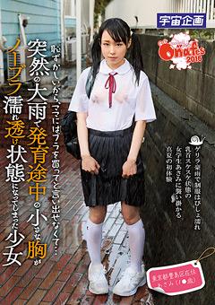 「恥ずかしいから、ママにはブラを買ってと言い出せなくて…突然の大雨で発育途中の小さな胸がノーブラ濡れ透け状態になってしまった少女 東京都豊島区在住 あさみ(1●歳)」のパッケージ画像