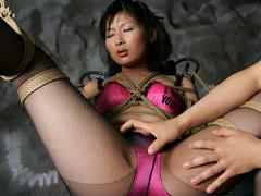 【エロ動画】緊縛プレイ希望の素人M女に追加の浣腸責め! 冬美20才のSM凌辱エロ画像