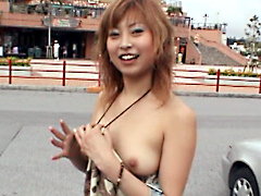 【萩原さやか動画】激ヤバ!!露出おま○こ旅行inOKINAWA-萩原さやか-露出