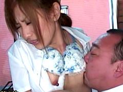 【エロ動画】バスガイドのHな体験談のエロ画像