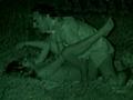 夏の夜の野外SEX! 赤外線カメラでモ...