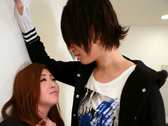 美咲玲:身長181cmの男装美女がレズ未経験の女の子を落とす