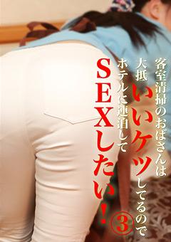 【熟女動画】客室清掃のおばさんはいいケツしてるのでSEXしたい!3